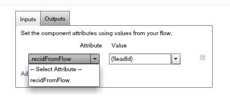 Forms with Salesforce flow and lightning components