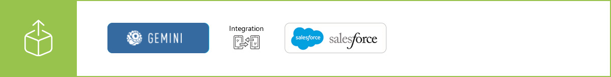 Show customer information from Salesforce in Gemini