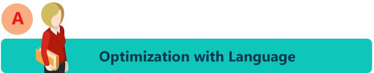 Optimization with Language