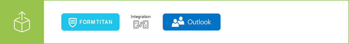 Manage your contacts more efficiently using our Outlook Contacts integration
