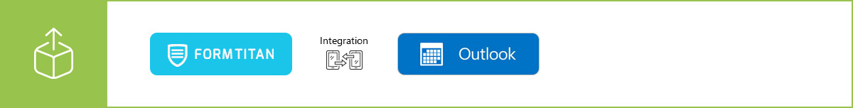 Manage your resources more efficiently using our Outlook Calendar integration