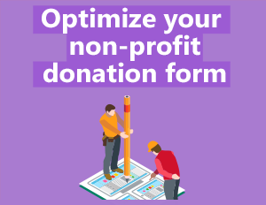 Optimize donation forms