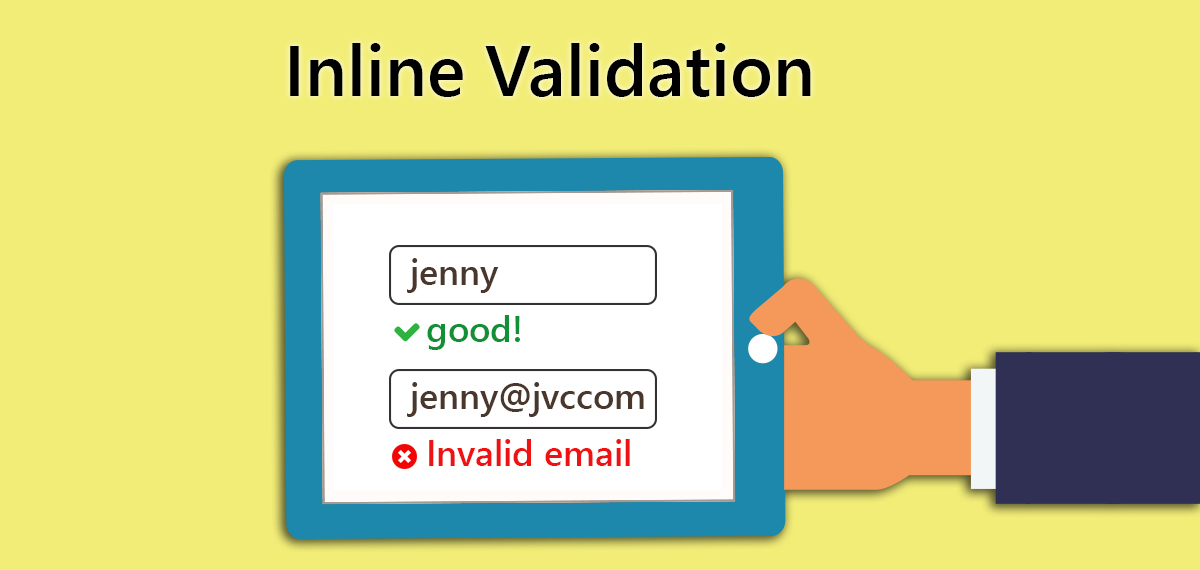 Are you usng inline validation in your online form? Read why you should