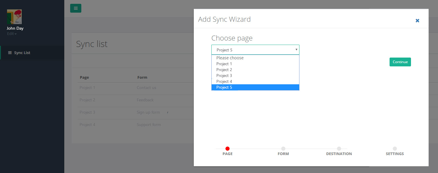 How to Sync leads from facebook with google contacts
