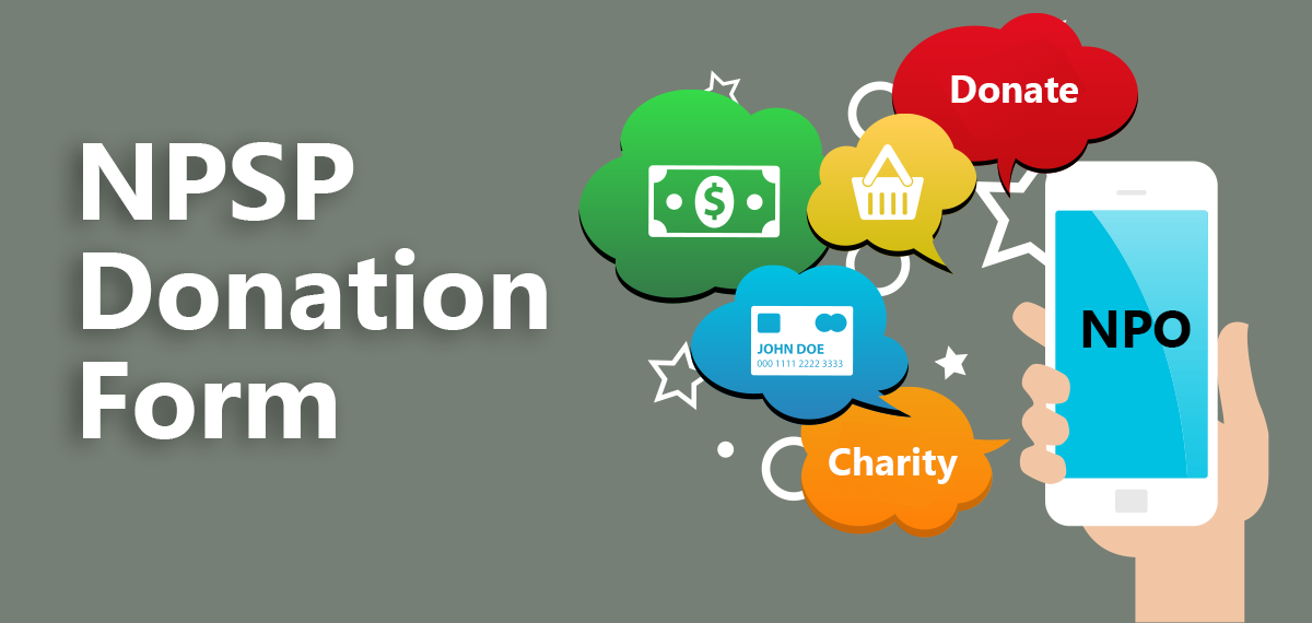 Learn how to create donation forms with Salesforce integrations