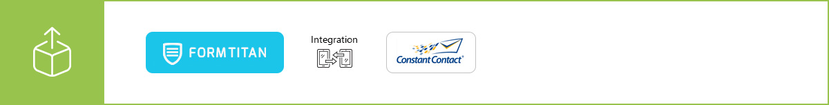 Manage your mailing lists and newsletter registrations more efficiently using our Constant Contact integration