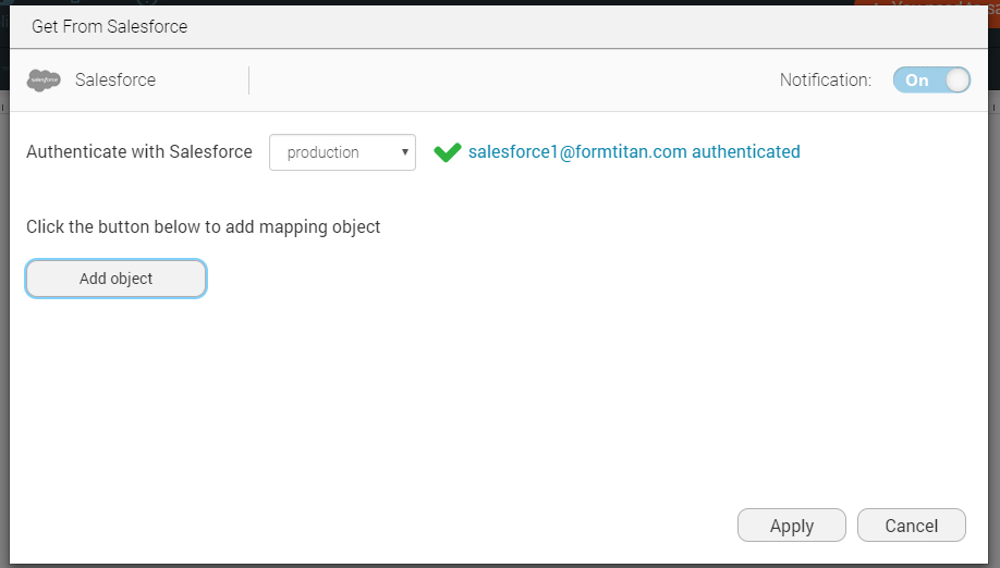 Mapping your salesforce attachment / file / dcoument to an