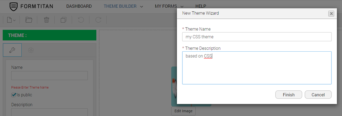 How to Create a Theme based on CSS
