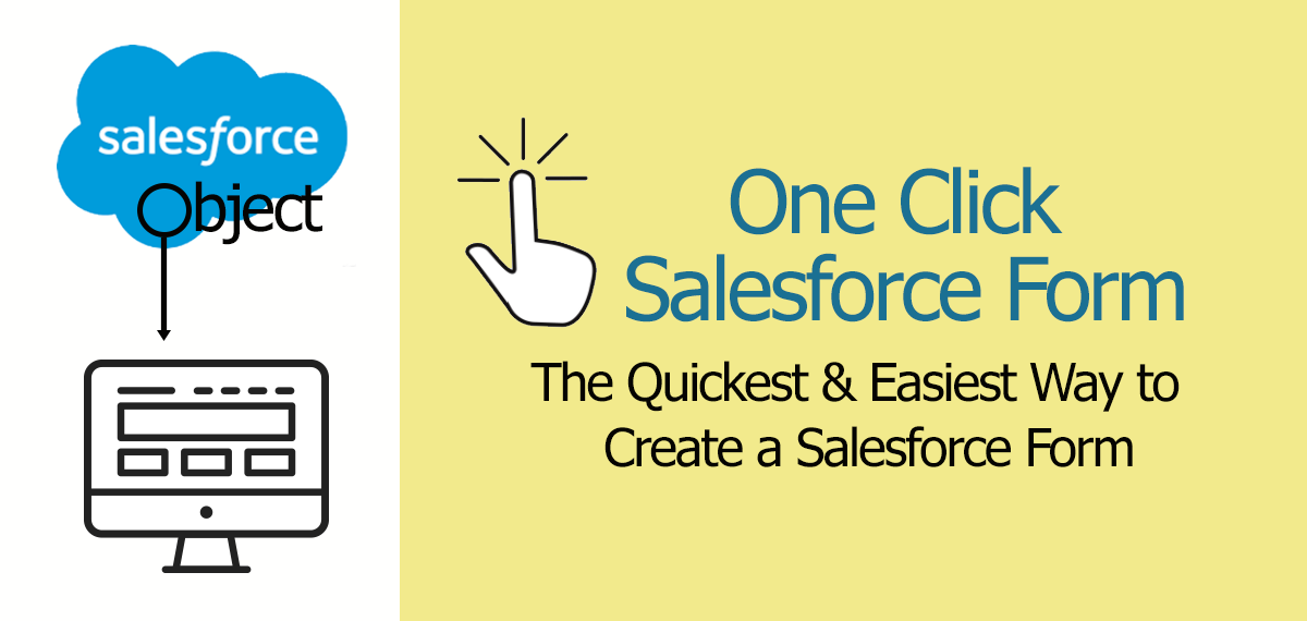 The quickest and easiest way to create an online form integrated with Salesforce