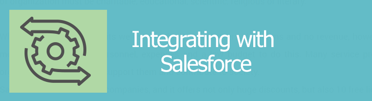 Integrating with Salesforce