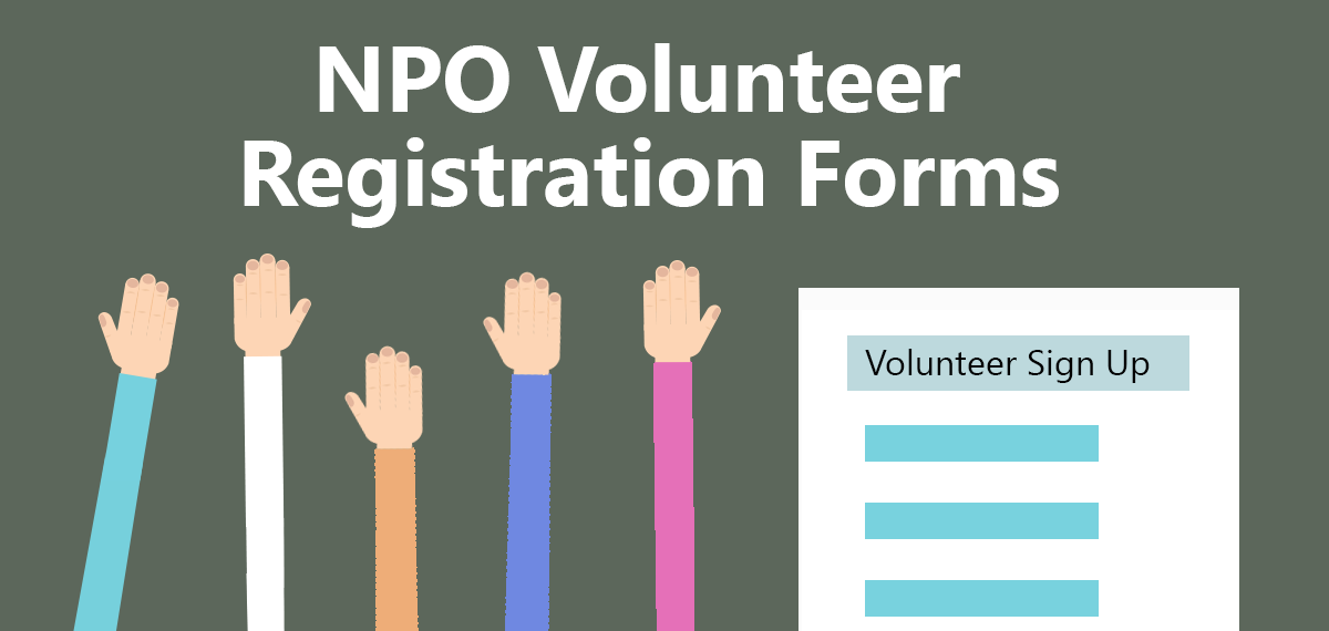 Creating a volunteer form using an online form builder