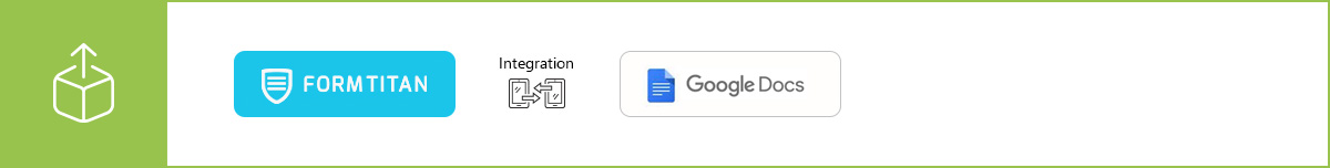 Manage your data more efficiently using our Google Documents integration