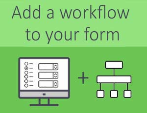 Add workflow to your form