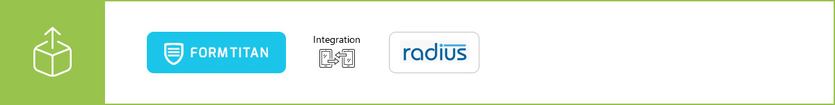 Manage your data more efficiently using our Radius integration