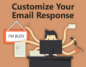 Custom email response