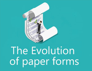 Evolution of paper forms