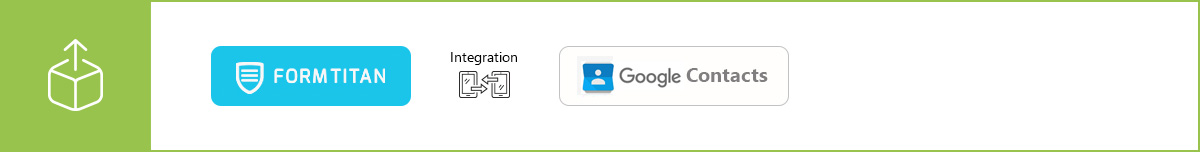 Manage your contacts more efficiently using our Google Contacts integration